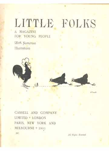 Carolina - Little Folks - 3 Revistas em 1 Volume