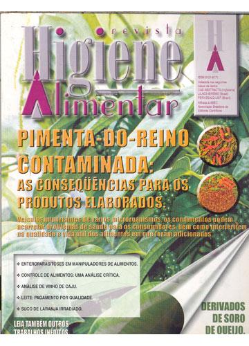 Higiene Alimentar - Ano 2002 - N°.97 - Volume 16