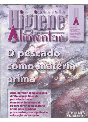 Higiene Alimentar - Ano 2002 - N°.99 - Volume 16