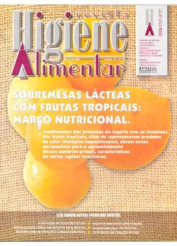 Higiene Alimentar - Ano 2005 - N°.129 - Volume 19