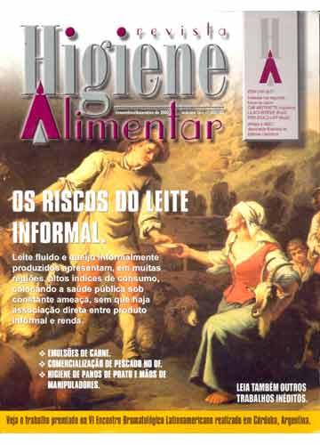 Higiene Alimentar - Ano 2002 - N°.102 / 103 - Volume 16