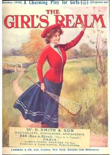 The Girl's Realm - 3 revistas em 1 volume - October / November / December - 1910