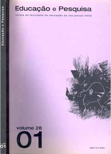 Educação e Pesquisa - Education and Research - Volume 28 - Número 1