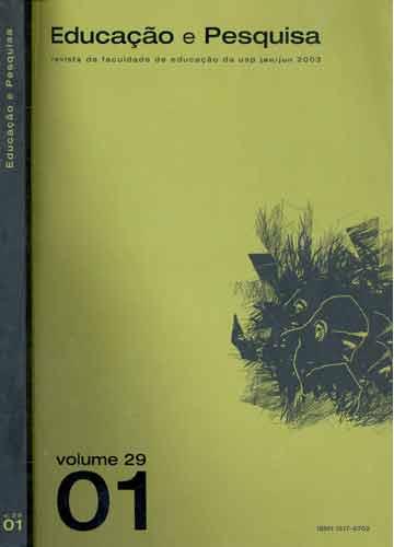 Educação e Pesquisa - Volume 29 - Número 1
