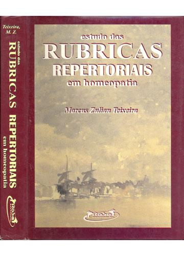 Estudo das Rubricas Repertoriais em Homeopatia