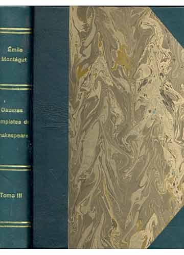 Oeuvres Completes de Shakespeare - Tomo III