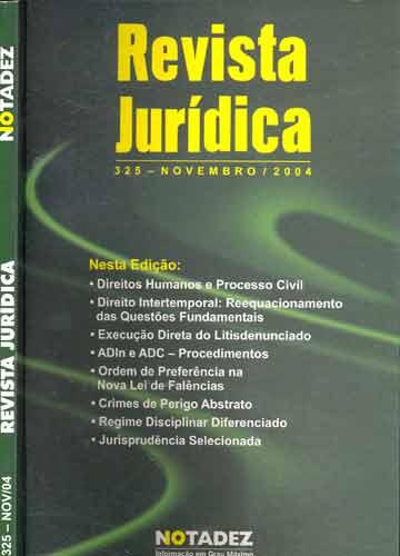 Revista Jurídica - Nº.325