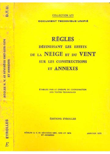 Régles N. V. 65 Révisées 1967 - 1970 - 1974 Et Annexes