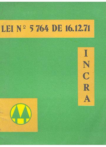 Lei Nº. 5764 de 16.12.71