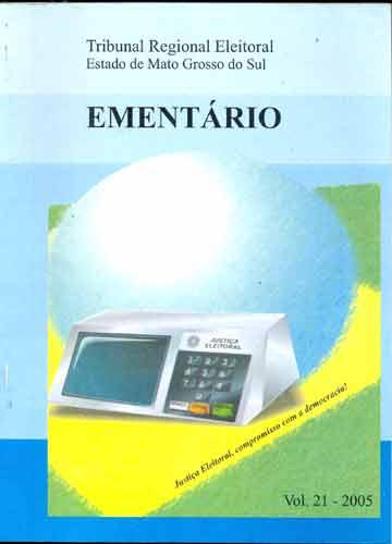 Ementário - Volume 21