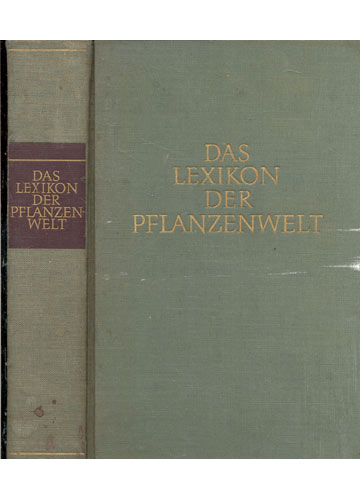 Das Lexikon Der Pflanzenwelt