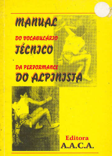 Manual do Vocabulário Técnico da Perfomance do Alpinista