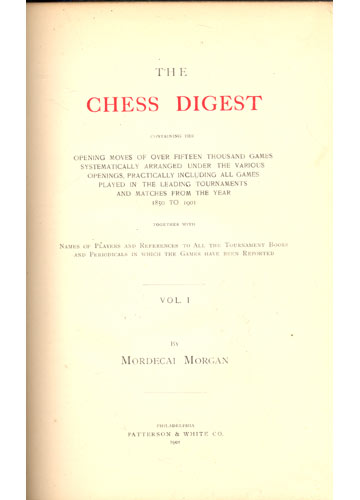 The Chess Digest - 4 Volumes