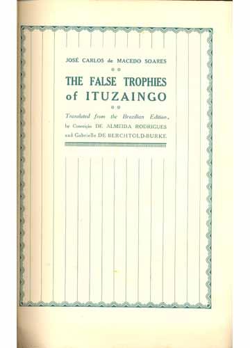 The False Trophies of Ituzaingo