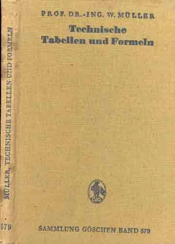 Technische Tabellen und Formeln