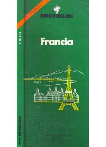 Livro - Francia Michelin - Guía Turística - Sebo do Messias