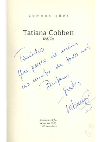 Composições Tatiana Cobbett - Básicas