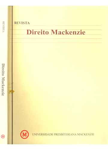 Direito Mackenzie - 2000 - N°.1