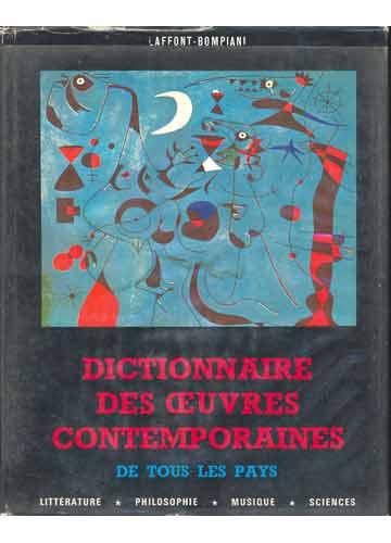 Dictionnaire Des Oeuvres Contemporaines