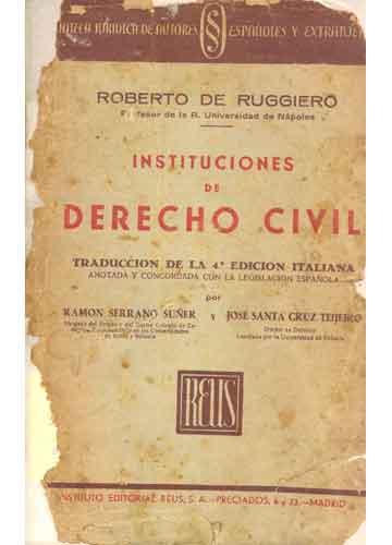 Instituciones de Derecho Civil - 3 Volumes