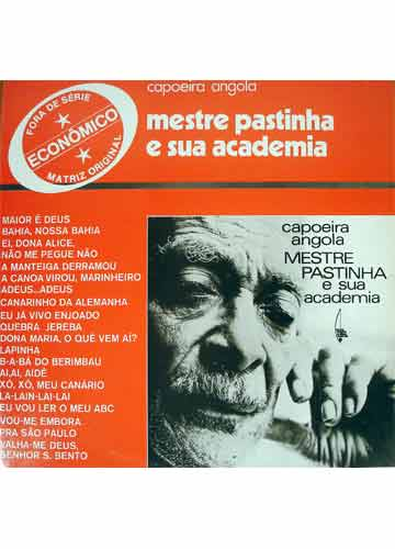 Lp Capoeira Angola Mestre Pastinha E Sua Academia Sebo