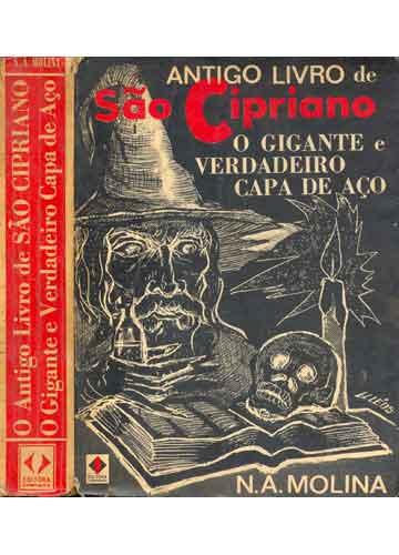 Livro - O Antigo Livro de São Cipriano - O Gigante e