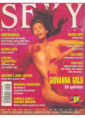 Sexy - 1993 - n°166 - Giovanna Gold