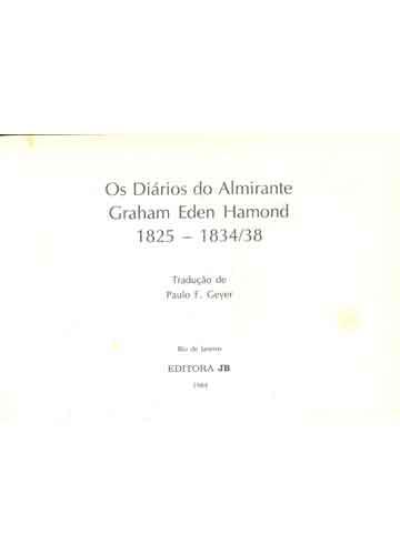 Os Diários do Almirante G. E. Hamond