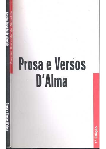 Prosa e Versos D'Alma - C/ Dedicatória do Autor