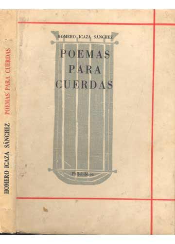 Poemas Para Cuerdas - Com Dedicatória do Autor