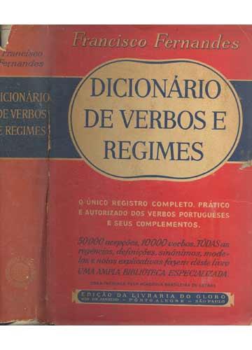 Dicionário de Verbos e Regimes