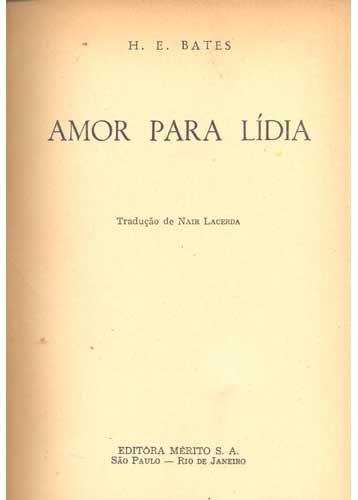 Amor para Lídia