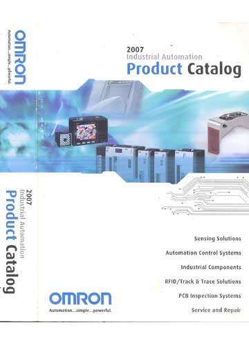 2007 Industrial Automation Product Catalog