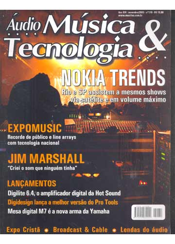 Áudio Música & Tecnologia - 2005 - N°.170
