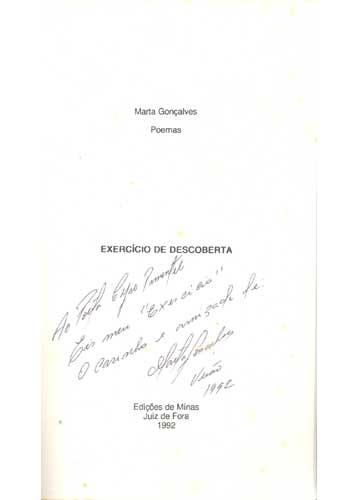 Exercício de Descoberta - Com Dedicatória da Autora