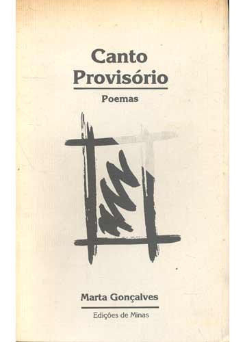 Canto Provisório - Com Dedicatória do Autor