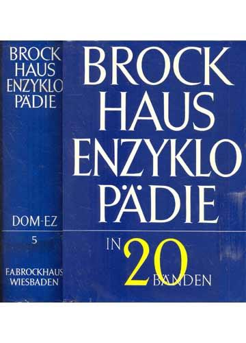 Brock Haus Enzyklopädie - Volume 5 -DOM-EZ