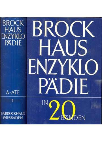 Brock Haus Enzyklopädie - Volume 1 - A-ATE