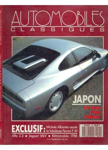 Automobiles Classiques - Numero 24 - 1988