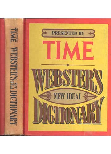 Presented by Time - Webster´s New Ideal Dictionary