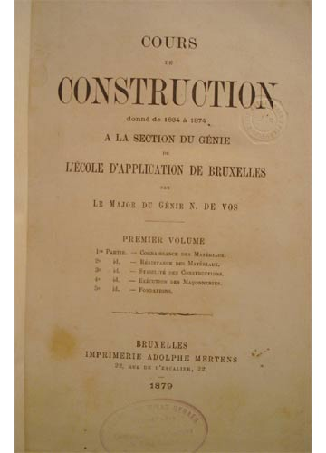Cours de Construction - 2 Volumes