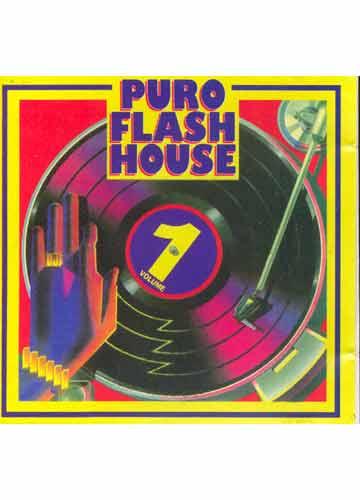 CD - Puro Flash House - Volume 1 - Sebo do Messias