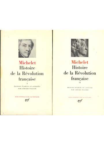 Histoire de la Révolution Française - 2 volumes