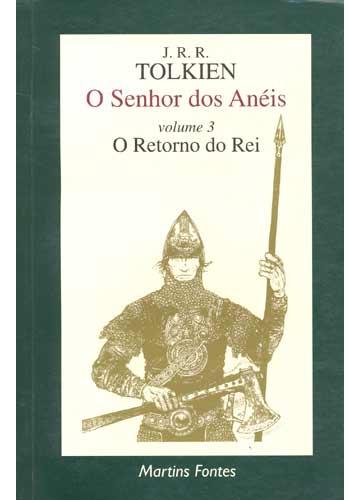 Livro - O Senhor dos Anéis - Volume 3 - O Retorno do Rei