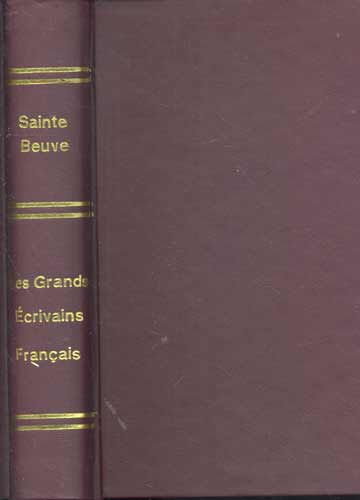 Les Grands Écrivains Français - Com Ex-Libris de Basílio Machado Neto