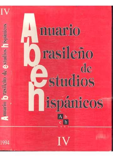 Anuario Brasileño de Estudios Hispánicos - Volume 4
