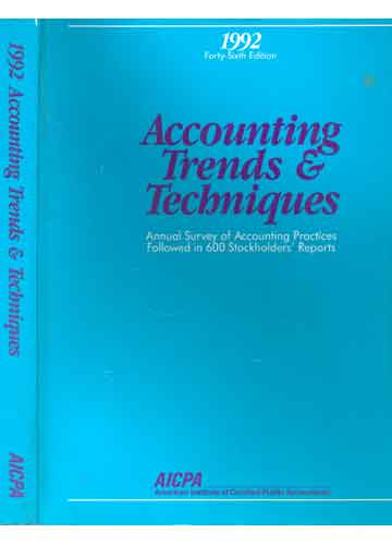 Accounting Trends & Techniques