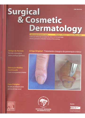 Surgical e Cosmetic Dermatology - 4 Volumes