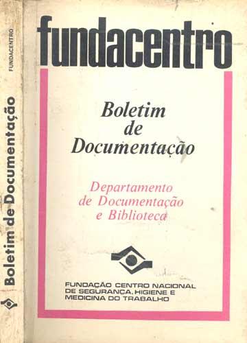 Boletim de Documentação - Fundacentro