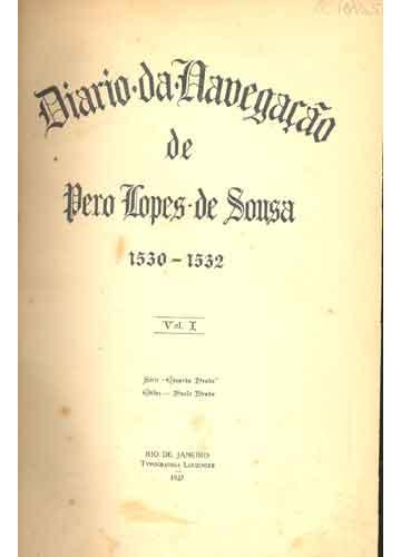 Diario da Navegação - Volume 1